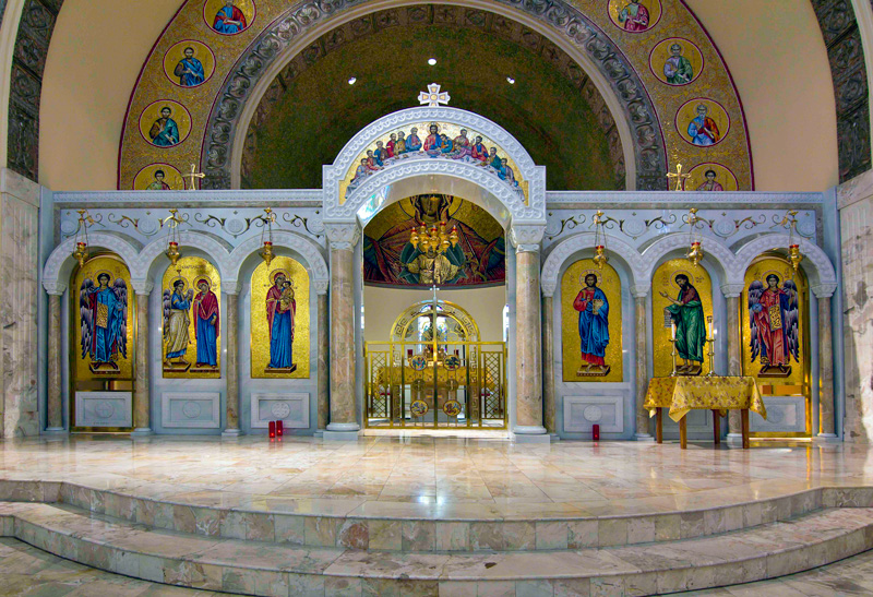 The Iconstasis of the Annunciation Greek Orthodox Church