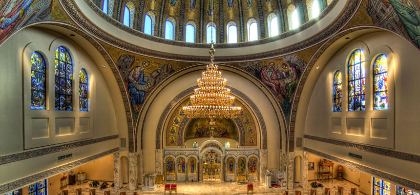 The Annunciation Greek Orthodox Cathedral in Columbus, OH